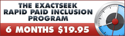 Rapid Paid Inclusion - Add Your Site to 50+ Top Search Engines in 48 Hours